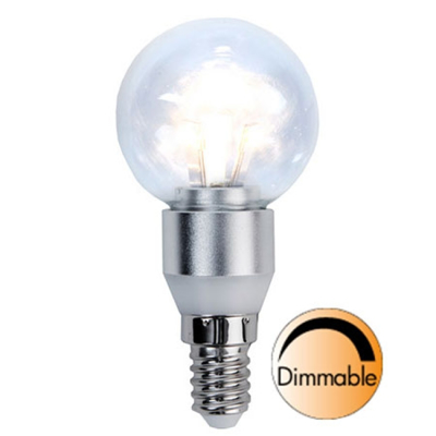 Mynd af Illumination LED Clear E14 2700K 250lm 3W(25W) Dimmer compatible