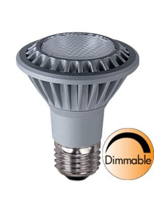 Mynd af Spotlight LED Grooved E27 2700K 380lm 7W(50W) 35° Dimmer compatible