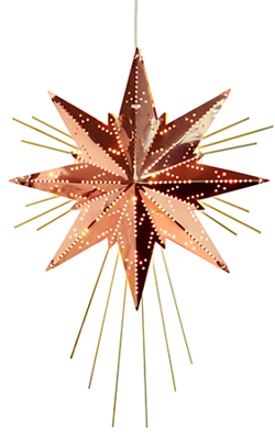 Mynd af Mini Luxe Star Copper