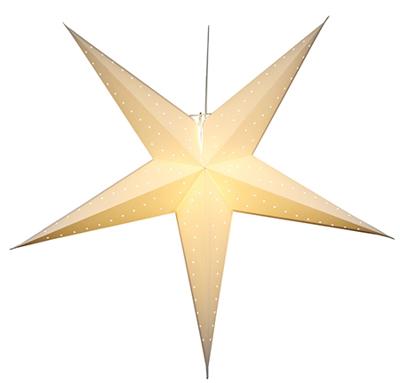 Mynd af White Big Star 150cm