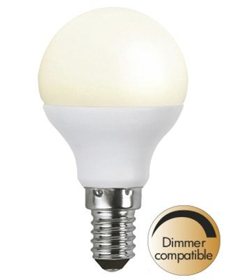 Mynd af 6w(=40W) LED Pera E14