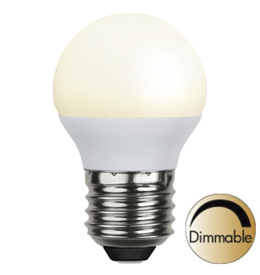 Mynd af Illumination LED Opal E27 2700K 400lm 6W(35W) Dimmer compatible