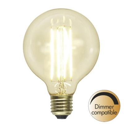 Mynd af Decoration LED Clear G95 E27 2200K 320lm Dimmer comp.
