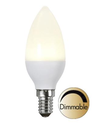 Mynd af  Illumination LED Opal E14 2700K 400lm 6W(35W) Dimmer compatible