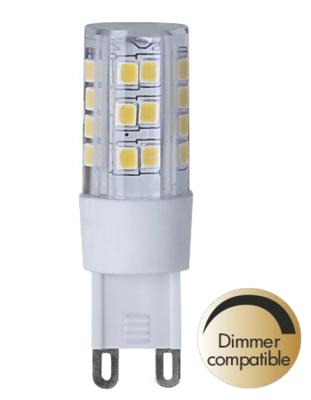 Mynd af LED Clear G9 2700K 360lm Dimmer comp.