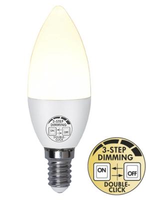 Mynd af LED Pera E14 5W Built in dimmer 3 step