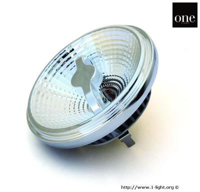 Mynd af LED 10w GU10 R111 WW DIMMABLE 35deg