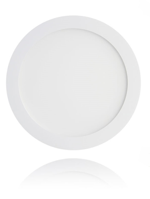 Mynd af LED plafon light round WHITE