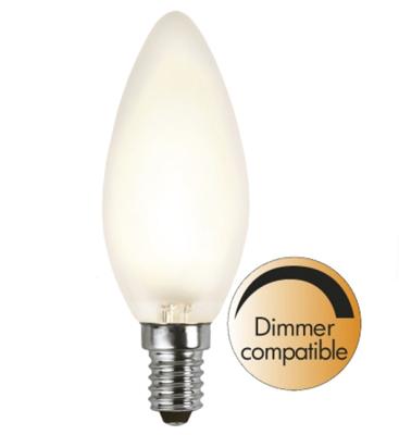 Mynd af Illumination LED Frosted filament bulb E14 2700K 320lm Dimmer comp.