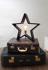 Mynd af LYSeKIL wooden star 52cm E27, black