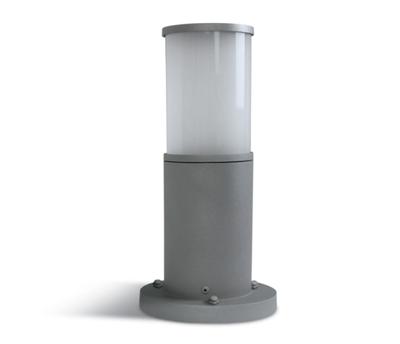 Mynd af Tube 4 útiljósastaur 35cm Grey