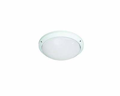 Mynd af Casablanca Outdoor White Patio Garden Wall Light - IP54 Protection