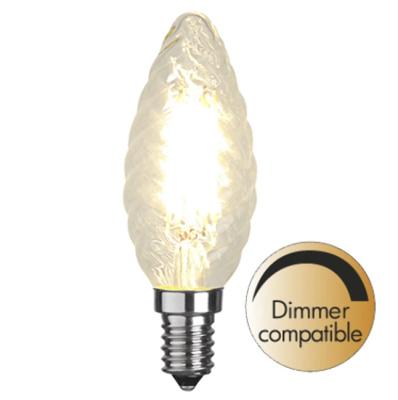 Mynd af Illumination LED Twisted filament bulb E14 2700K 420lm Dimmer comp.