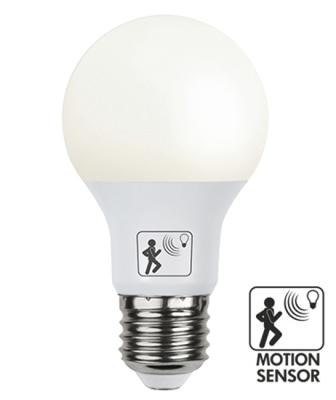 Mynd af Illumination LED Opal lamp with twilight and motion sensor E27 2700K 806lm