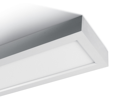 Mynd af 40W IP40 Slim Square LED Plafon