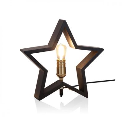Mynd af TABLE STAR LYSEKIL BLACK 30CM