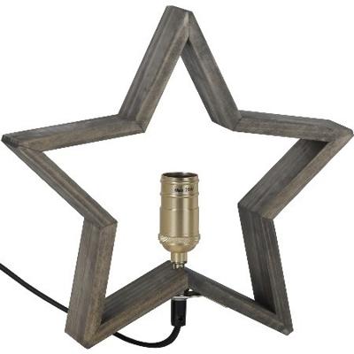 Mynd af TABLE STAR LYSEKIL BROWN 30CM