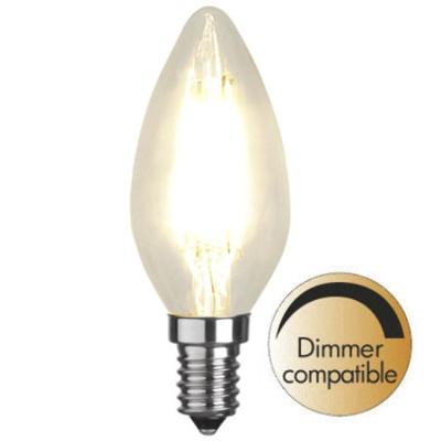 Mynd af Illumination LED Clear filament bulb E14 2700K 420lm Dimmer comp.