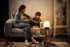 Mynd af Philips Hue White ambiance Wellness table lamp