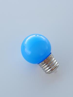 Mynd af G45 E27 230V LED PERA BLÁ