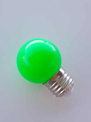 Mynd af G45 E27 230V LED PERA GRÆN