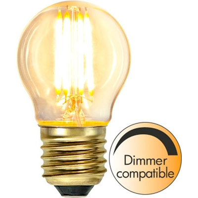 Mynd af LED LAMP E27 G45 SOFT GLOW DIMMABLE