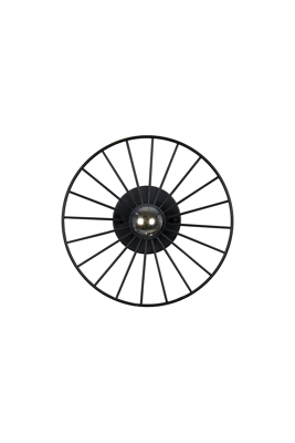 Mynd af WHEEL MINI BLACK Loftljós/veggljós