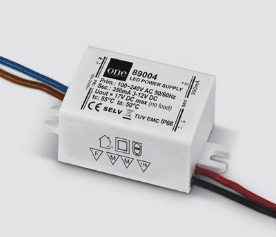 Mynd af Driver 350mA 1-4W LED IP66 100