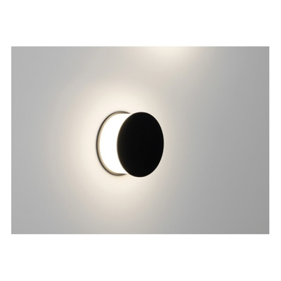 Mynd af Luno Black Wall Light