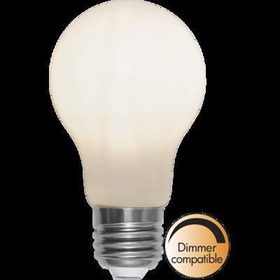 Mynd af LED LAMP E27 A60 OPAQUE FILAMENT RA90