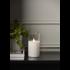 Mynd af LED PILLAR CANDLE M-TWINKLE 15cm