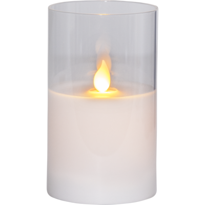 Mynd af LED PILLAR CANDLE M-TWINKLE 12,5cm