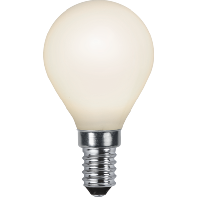 Mynd af LED LAMP E14 P45 OPAQUE FILAMENT RA90