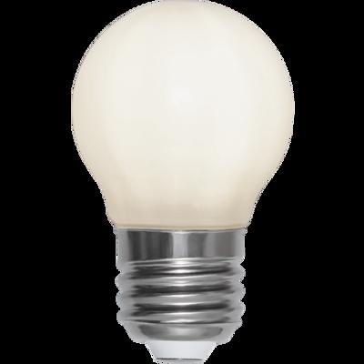 Mynd af LED LAMP E27 G45 OPAQUE FILAMENT RA90