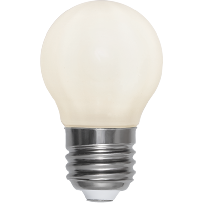 Mynd af LED LAMP E27 G45 OPAQUE FILAMENT RA90