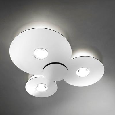 Mynd af BUGIA PL3 White ceiling light by Studio Italia Design
