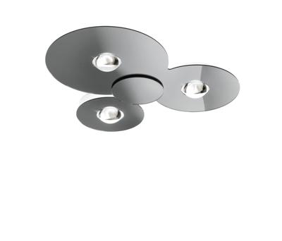 Mynd af BUGIA PL3 Chrome ceiling light by Studio Italia Design