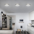 Mynd af BUGIA PL1 Chrome ceiling light by Studio Italia Design
