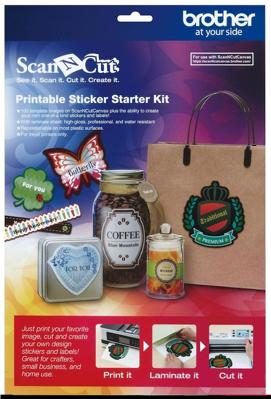 Mynd af Printable sticker starter kit