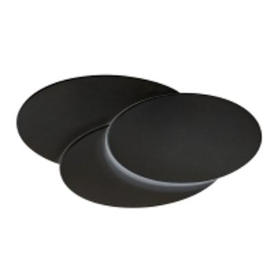 Mynd af Clover Oval LED Wall Black