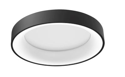 Mynd af Sovana Black CCT LED TOP með dimmer fjarstýringu