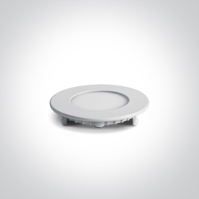 Mynd af 10103FA/W/W Led White Round Recessed Panel