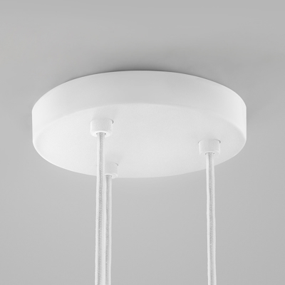Mynd af CEILING BASE Ø200/3 PENDANTS WHITE