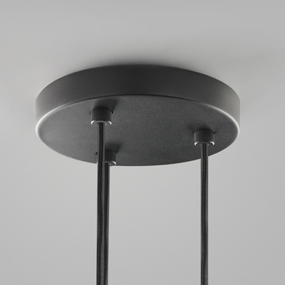 Mynd af CEILING BASE Ø200/3 PENDANTS BLACK