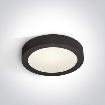 Mynd af LED plafon light round Black