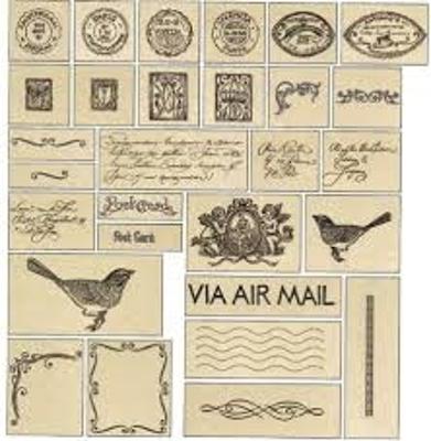 Mynd af 270 Vintage postcard