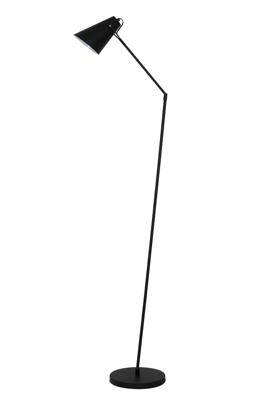 Mynd af Gólflampi Borre matt svart