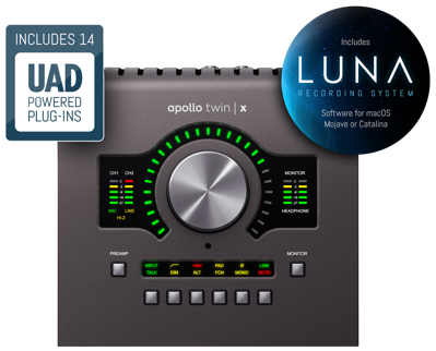 Mynd af Universal Audio-Apollo Twin X Duo