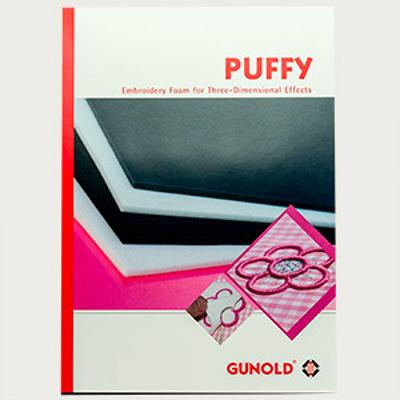 Mynd af Puffy 3mm - hvítt