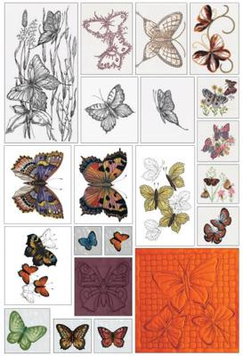 Mynd af 283 Most popular butterflies